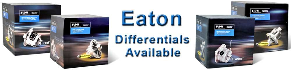 Eaton Differentials Available!